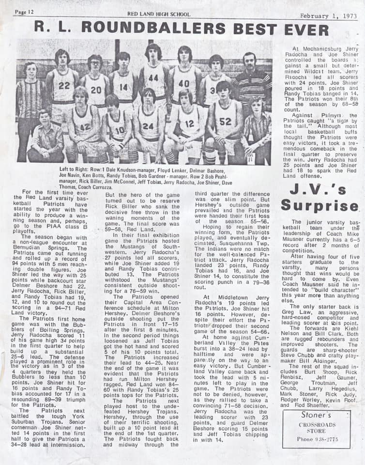 Delmer Beshore_Newspaper